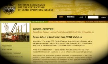 NCCCO and NVSC Workshop Original Press Release
