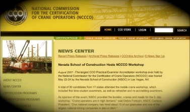 NCCCO and NVSC Workshop Original Press Release
