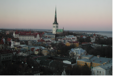 Mike's final day in Estonia in the national capital, Tallinn, portions of which date to the 14th century.