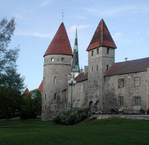 Old Town Wall in Estonia