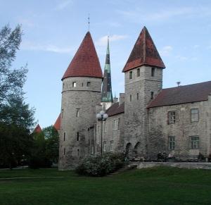 Old Town Wall in Estonia